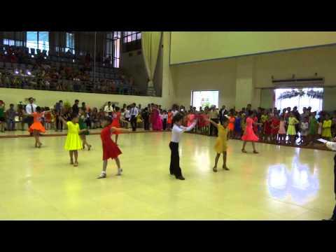 Hai Phong Open Dancesport Champion - F1 Latin Final - Thiếu nhi 1