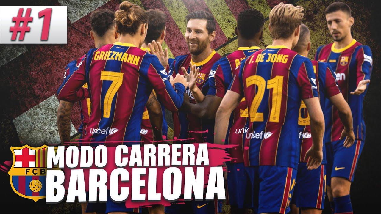 COMIENZA la GRAN RECONSTRUCCION!! | FIFA 21 Modo Carrera: Barcelona #1