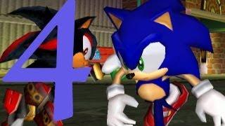 Sonic Adventure 2 Battle HD PS3 Hero Walkthrough - Part 4 Shadow Boss Battle