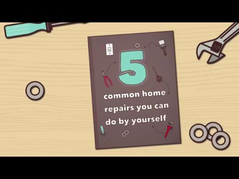 HEITON BUCKLEY | 5 COMMON HOUSEHOLD REPAIRS