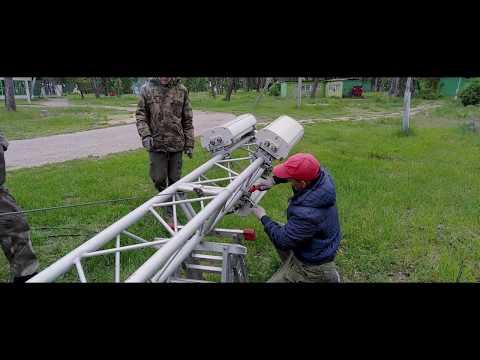 Мобильная базовая станция (СОЛ Садовка УлГТУ, Ульяновск). Оператор сотовой связи