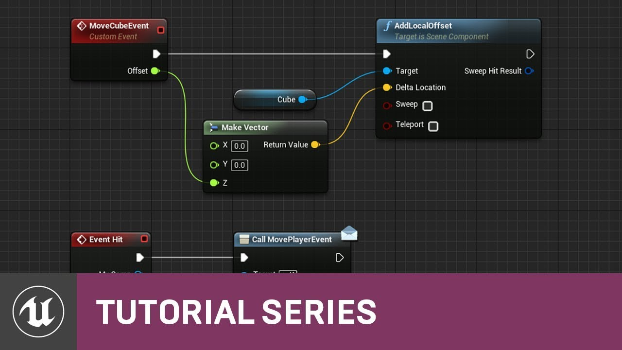 Blueprint Quickshot: Blueprint Communication | 05 | v4 7 Tutorial Series |  Unreal Engine