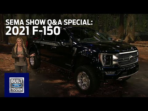 Ford Auto Nights: SEMA Show Q&A Special - 2021 F-150   Ford