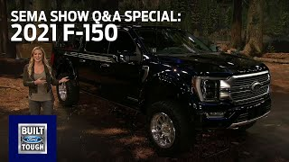 Ford Auto Nights: SEMA Show Q&A Special - 2021 F-150 | Ford