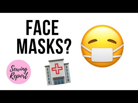 Sewing Face Masks For Hospitals 😷 What You Need To Know 🔴 SEWING REPORT LIVE