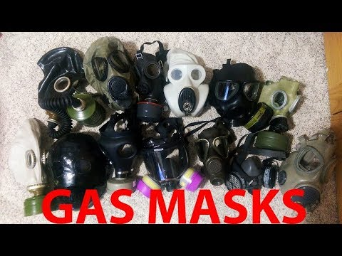 My Gas Mask Collection (So Far)