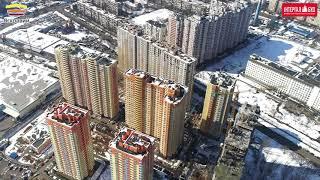 Ход строительства ЖК Яскравый 03.04.2018(, 2018-04-03T06:21:06.000Z)