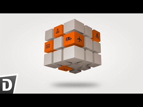 Infographic Cube   Inkscape Tutorial