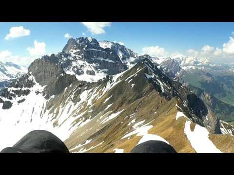 Jack's Paragliding   2017 05   Kandersteg   First