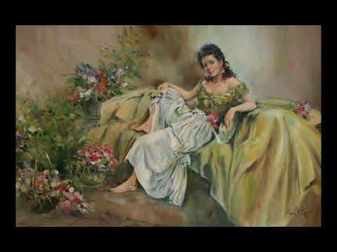 GORDON KING (1939) English artist  ✽ Francis Goya / I Started A Joke