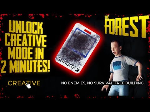 UNLOCK CREATIVE MODE IN 2 MINUTES WITH NO MODS! (v0.73) | The Forest