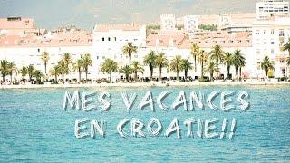 Quelque part en Croatie!! (Mes vacances)