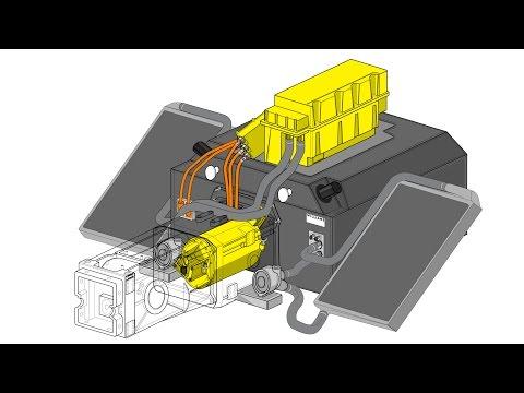 Formula E - McLaren P1 e-motor. Race track to road R&D reversed