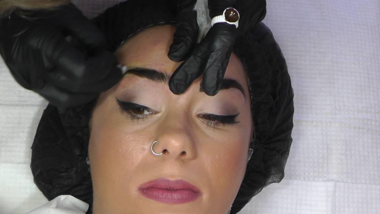 Microblade Eyebrow Procedure By Laura Bennett Permanent Cosmetics