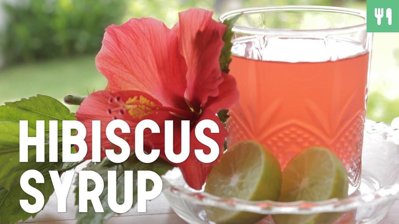 Hibiscus syrup cuisine du monde youtube hibiscus syrup cuisine du monde izmirmasajfo