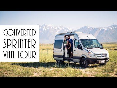 Van Life - Sprinter Van Conversion - DIY Van Tour