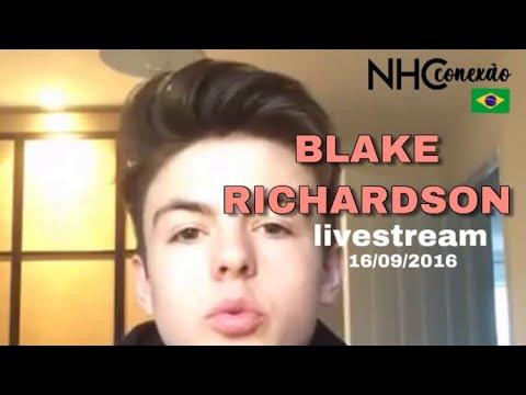 Blake Richardson livestream | 13 September 2016