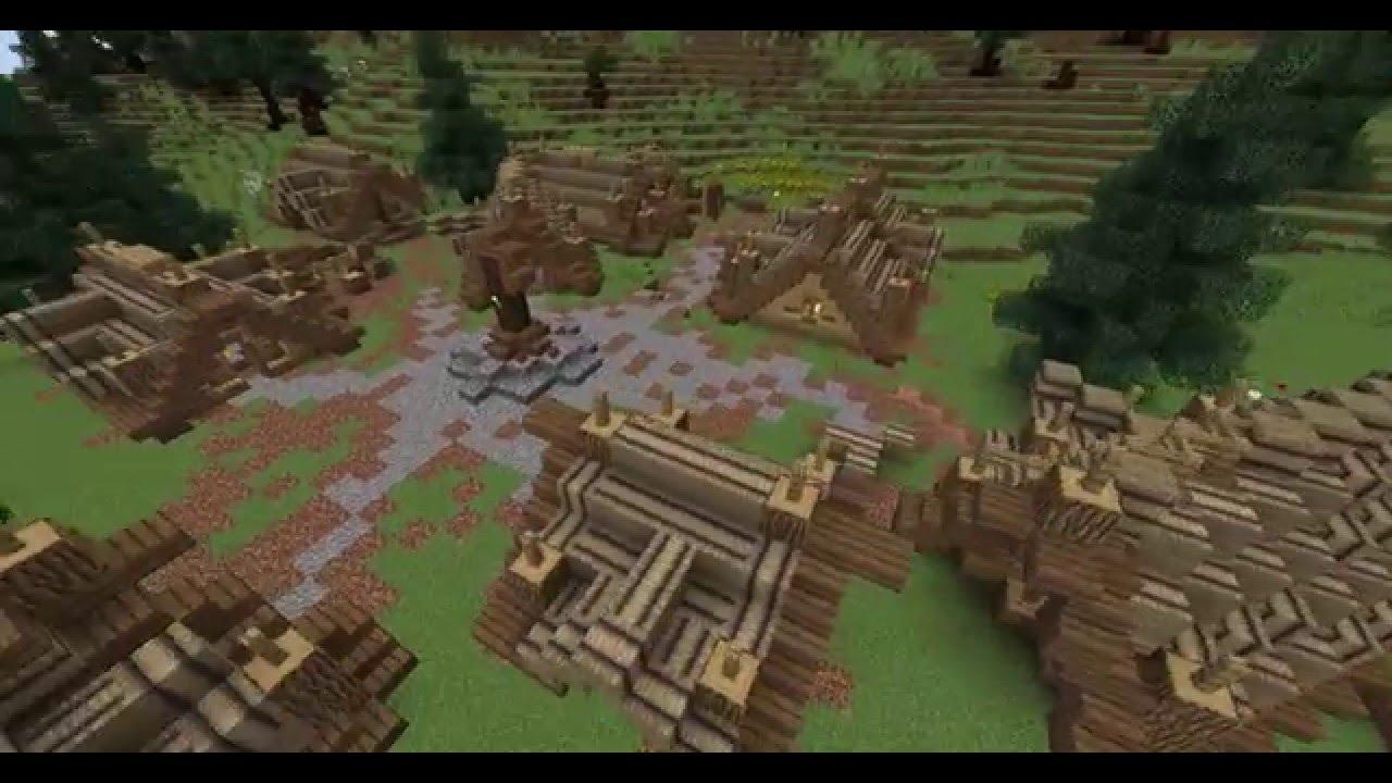 Geschichte Einer Stadt Episode Die Wikinger Kommen Minecraft - Minecraft wikinger hauser