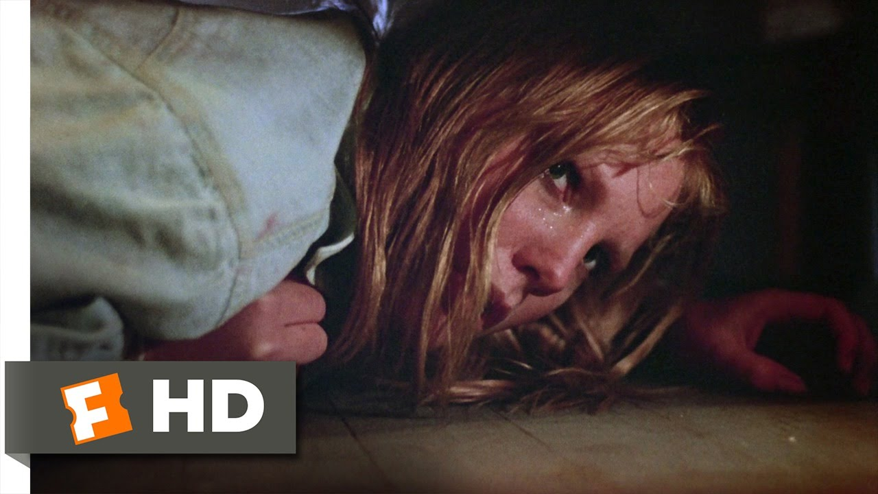 friday the 13th part 2 (8/9) movie clip - hiding under the bed