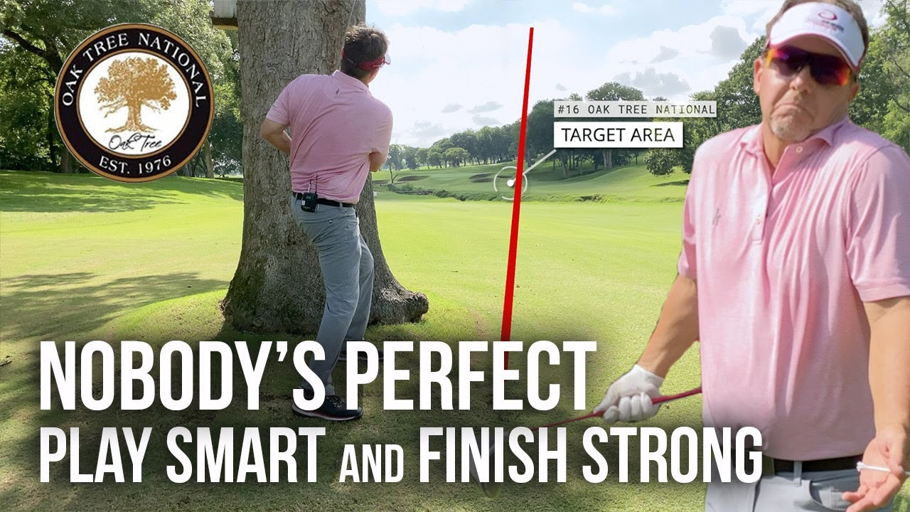 Taking My Single Plane Golf Swing to a Hard Golf Course - Part 5 / Play Smart and Finish Strong