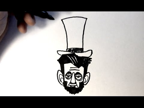 How To Draw Abraham Lincoln Youtube