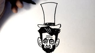 How to Draw Abraham Lincoln