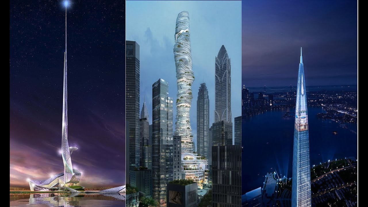 20 Awesome Tallest Building Designs Of The Future
