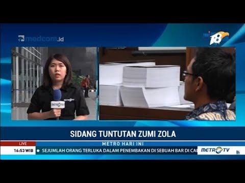 Zumi Zola Dituntut 8 Tahun Penjara Mp3