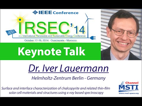 IRSEC'14 - Keynote Talk of Dr. Iver Lauermann, HZB, Germany