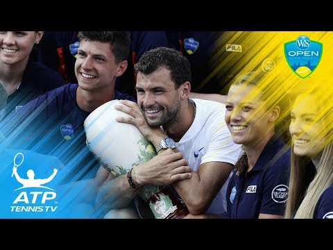 Dimitrov defeats Kyrgios to win first Masters 1000 title | Cincinnati 2017 Final Highlights