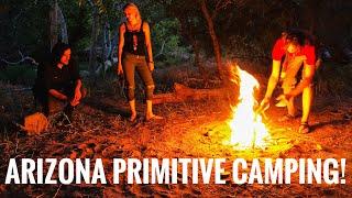 Arizona Primitive Camping Trip -Junkyard Fox