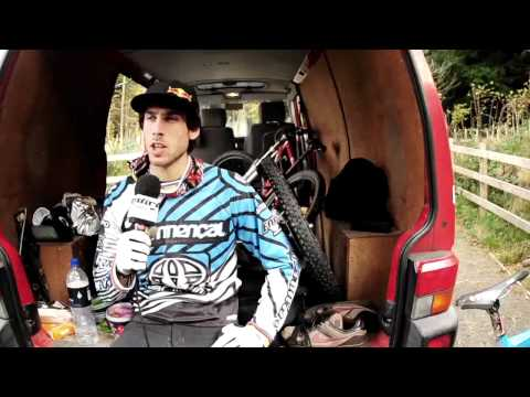 Gee Atherton on the1:04 -  Dirt Tv