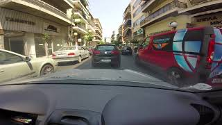 Driving in Athens, Greece 33