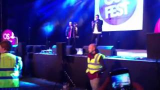 OsFest 2013, JLS-Coming on to Beat Again