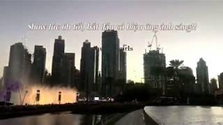 EXO #POWER in Dubai Fountain Show - Tự hào về EXO ❤