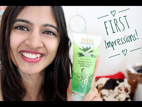 First Impressions - (VLCC) Double Power, Double NEEM Face Wash!
