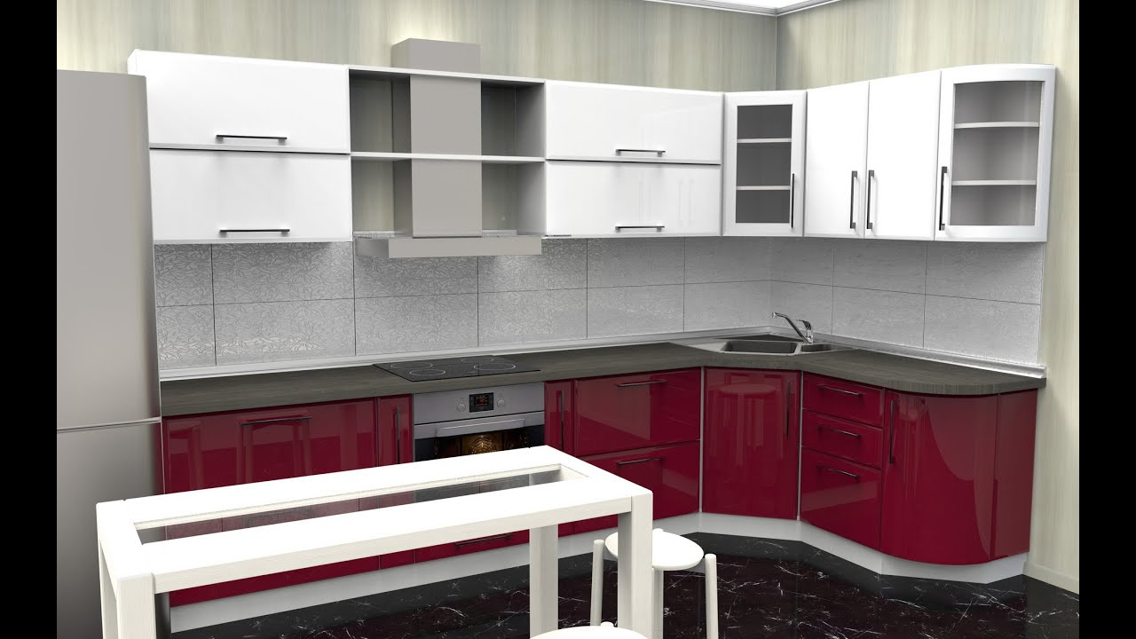 prodboard online kitchen planner 3d kitchen design youtube. Black Bedroom Furniture Sets. Home Design Ideas
