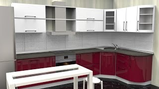 PRODBOARD Online kitchen planner / 3D kitchen design