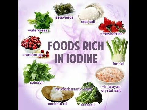 Iodine is good for you