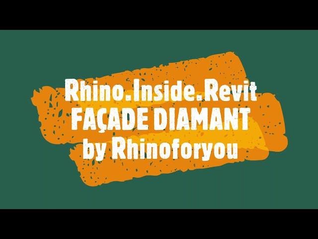 RHINO INSIDE REVIT @rhinoforyou