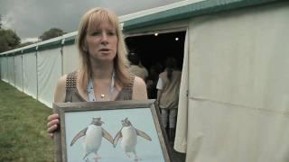 Spotlight on Jackie Garner, Wildlife Artist, at BirdFair 2010