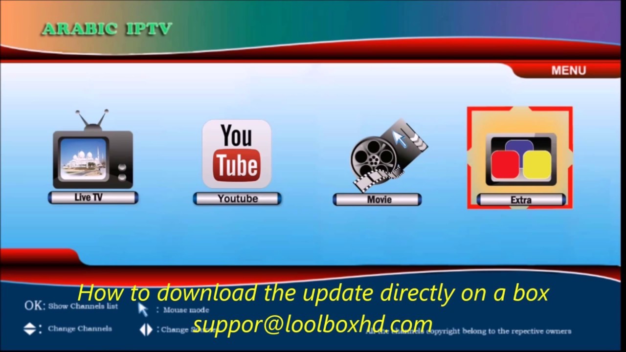 How to download the update directly on lool box