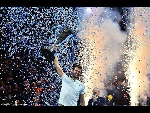 Grigor Dimitrov wins ATP Finals after three set victory over David Goffin in hard-fought battle