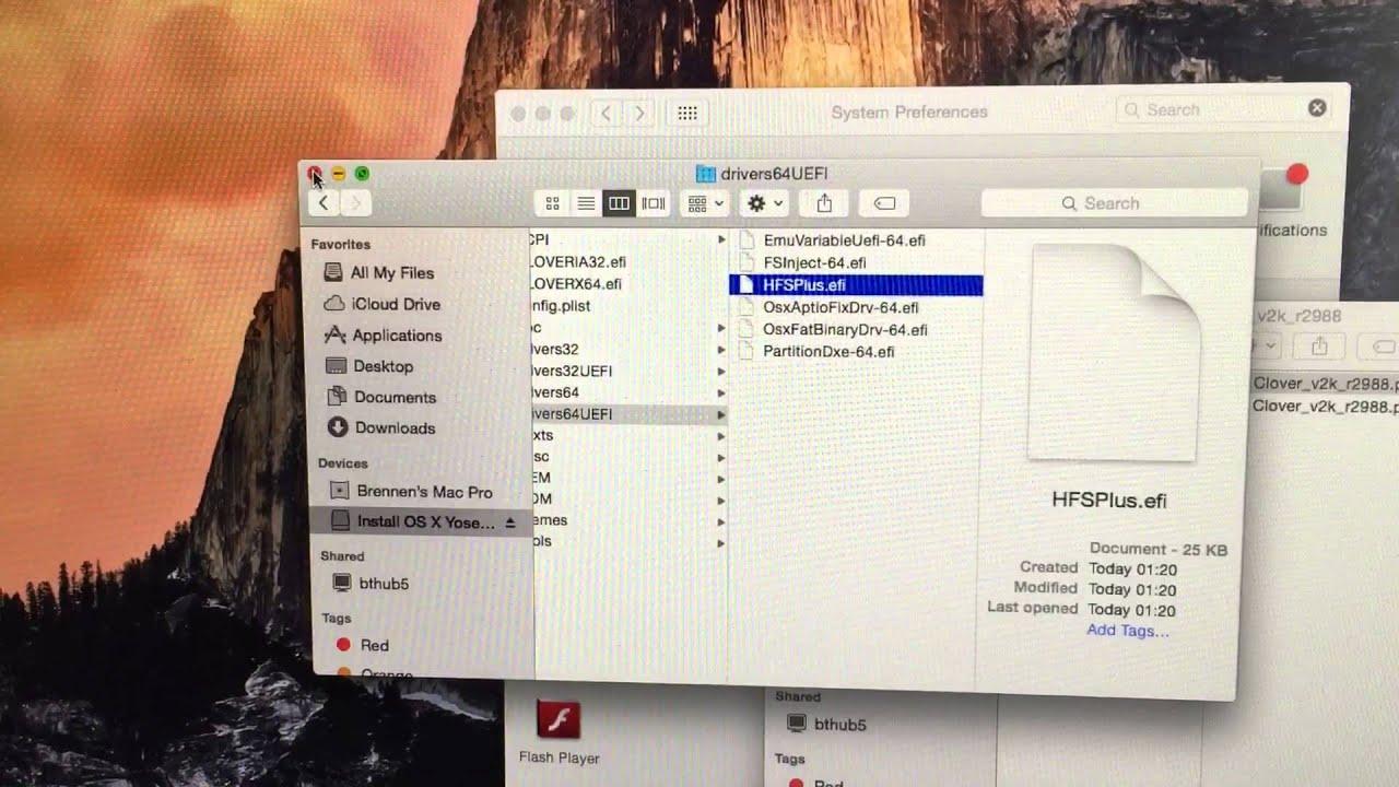Clover USB install problem