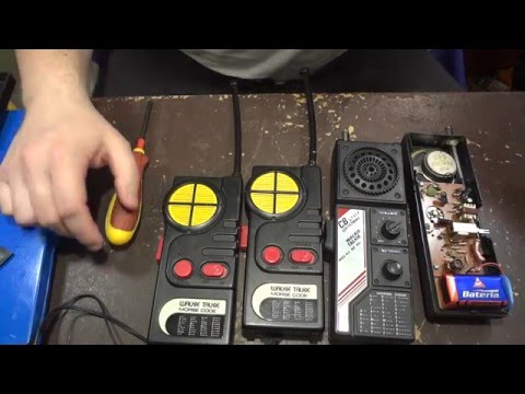 """NS - 881 and """"Boxer"""" Walkie Talkie Morse Code Comparison"""