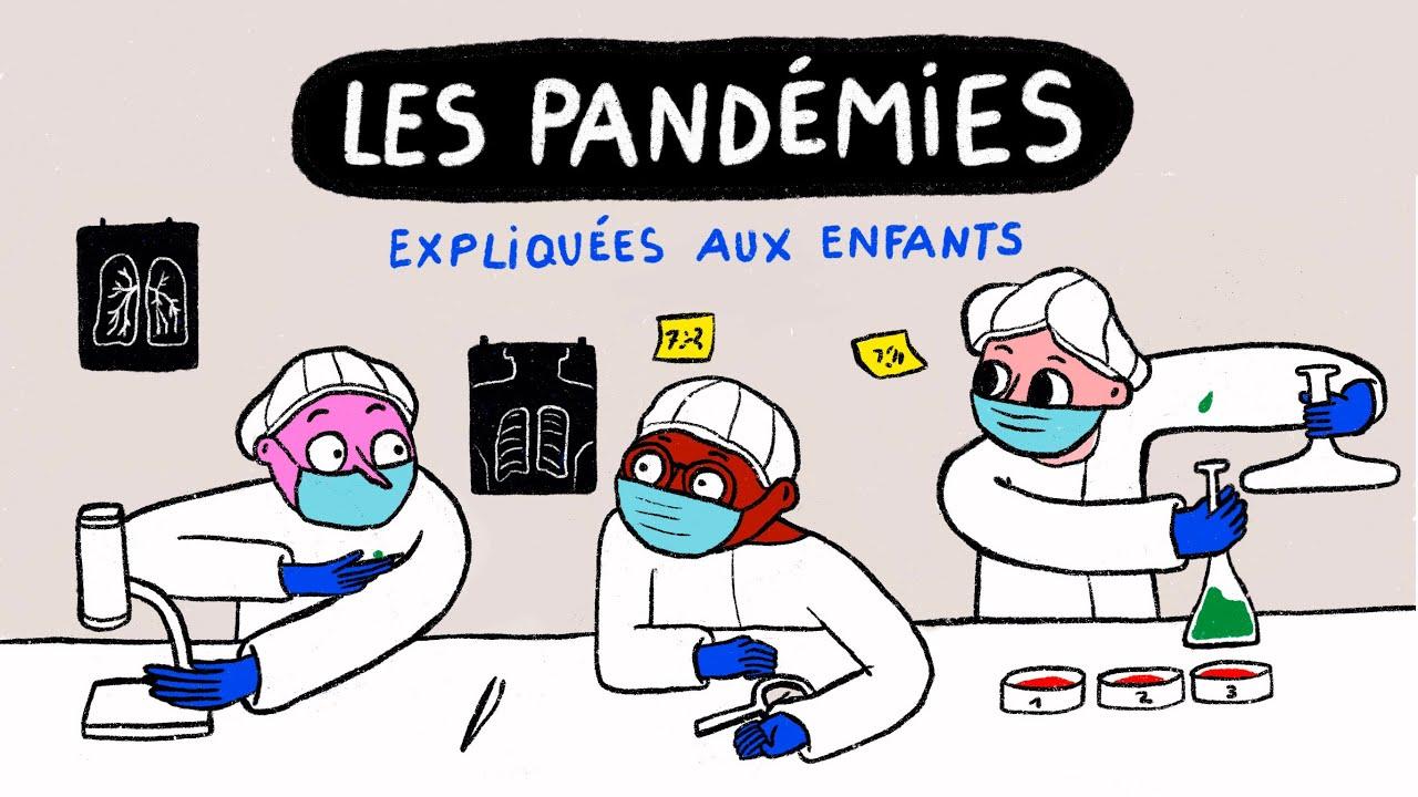 Les pandémies expliquées aux enfants
