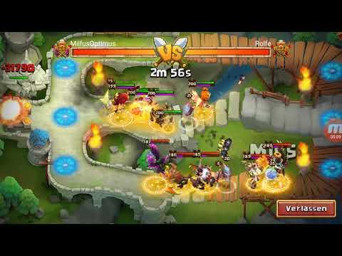 Maxed Lady Boom Vs Arena! Castle Clash