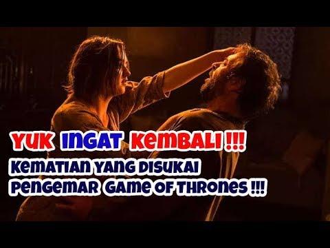 INGET GA !!! INI 7 KEMATIAN  MEMUASKAN GAME OF THRONES