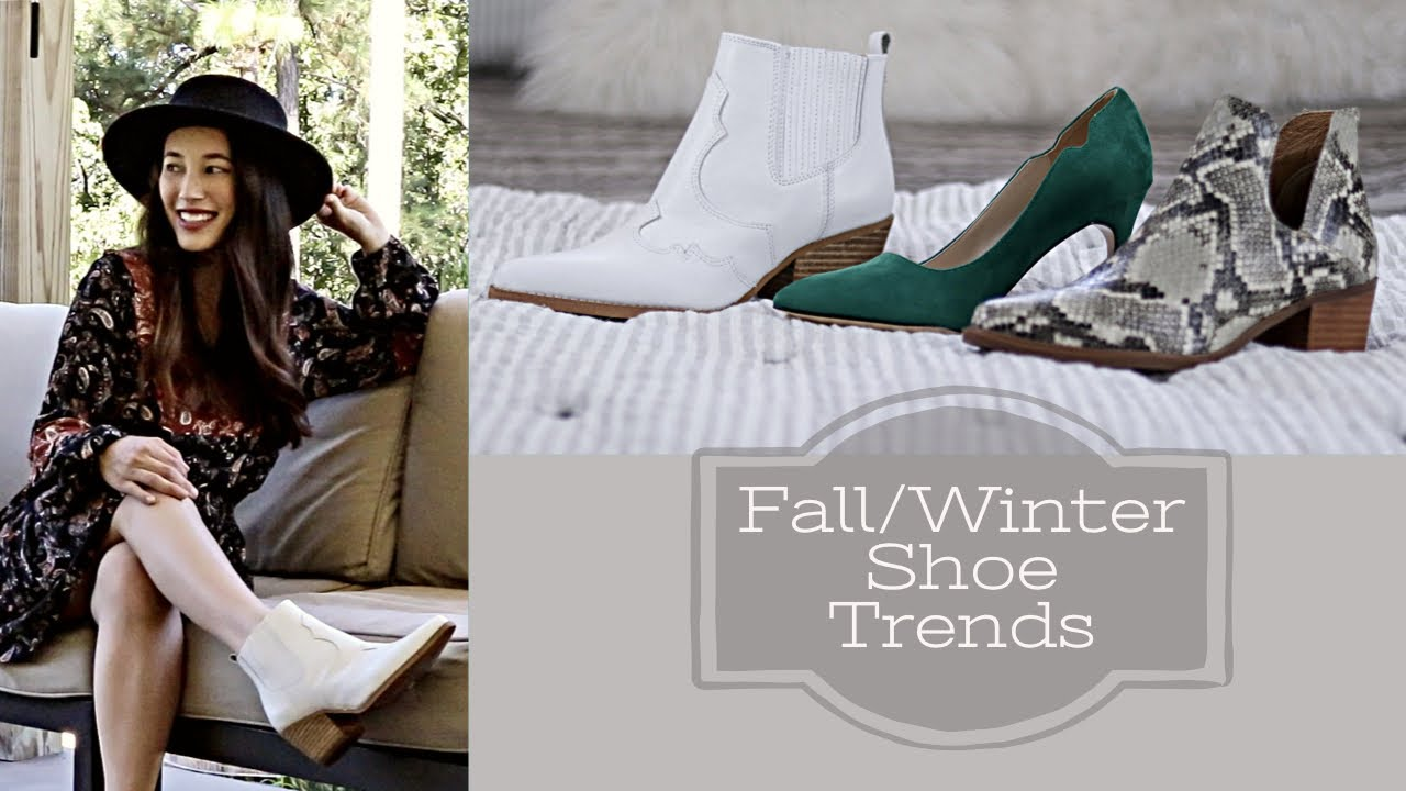 [VIDEO] – Fall/Winter Shoe Trends 2019| +GIVEAWAY & Outfit Ideas