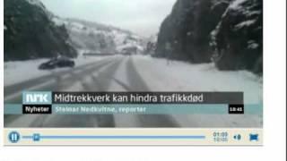 NRK- Tenk om vogntoget hadde kommet 2 sek senere